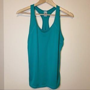 🌟 Old Navy Green Racerback Athletic Tank Top